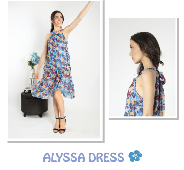 An Effortless Go-To Style: The Halter Dress