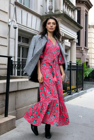 Cecilla Floral Printed Dress