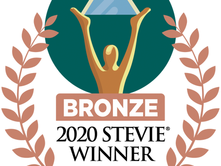 THE BLOC, INC. WINS BRONZE STEVIE® AWARD IN 2020 INTERNATIONAL BUSINESS AWARDS®