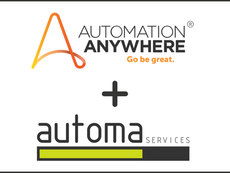 Partnerstwo Automation Anywhere i Automa Services