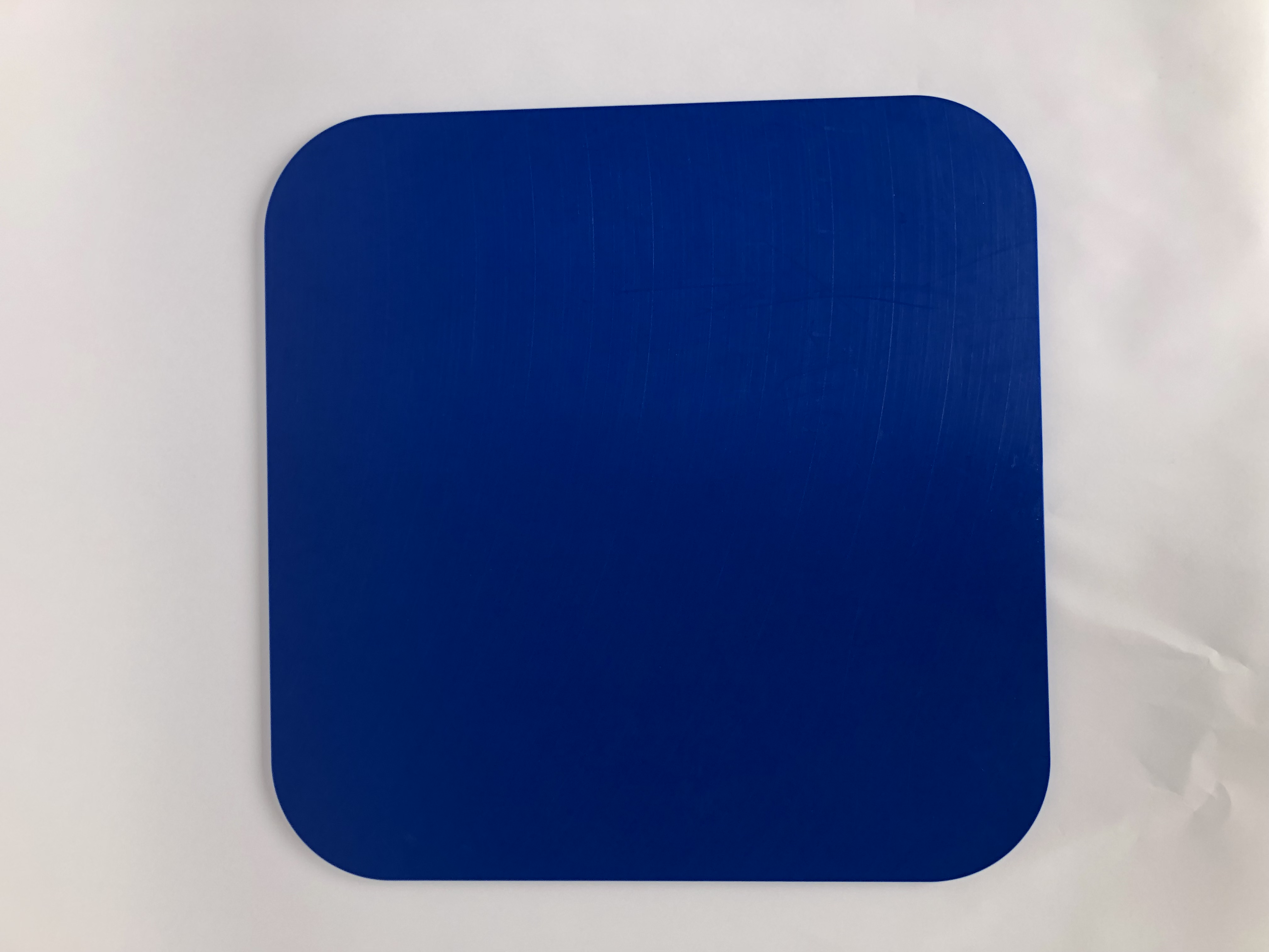 Kunststoffplatte detektierbar