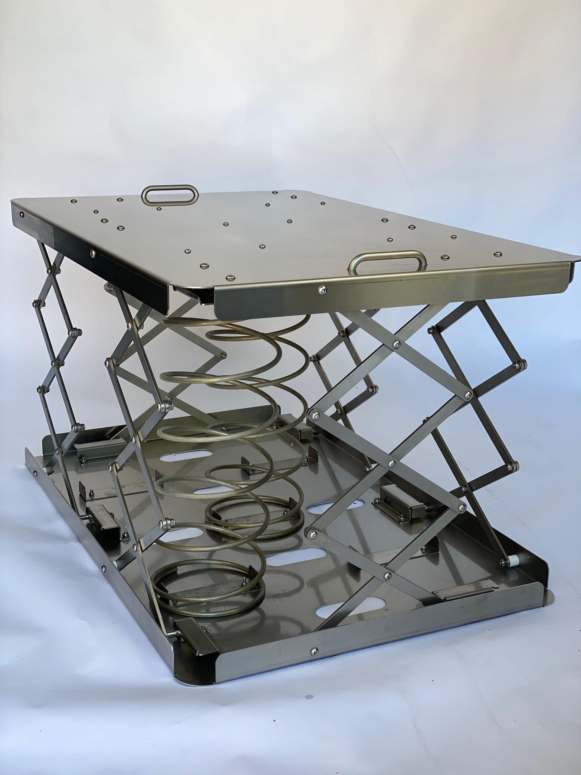 Ergo-BOX Einsatz Federsystem