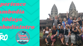 Experience Cambodia in 10 days on the #CAMBODIAINTRO!
