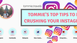 Tommie's Top Tips to GROW and BUILD your INSTAGRAM