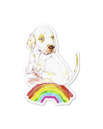Sticker - Rainbow Dog