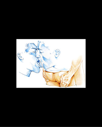 Print - Bisou Blue