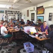Garbutt Community Centre sock puppet workshop
