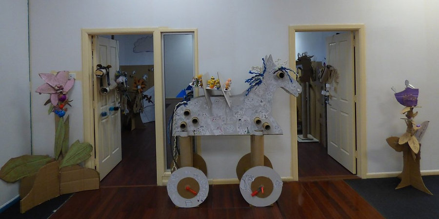 Trojan Horse entry view