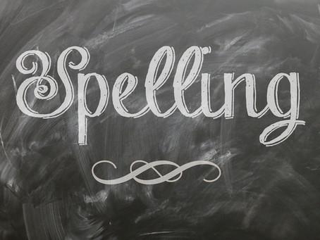 Spelling of Vb-ing