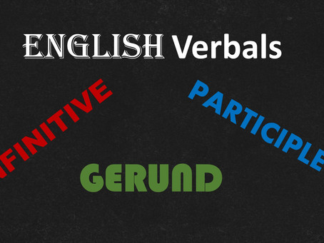 Structure of the English Verbals