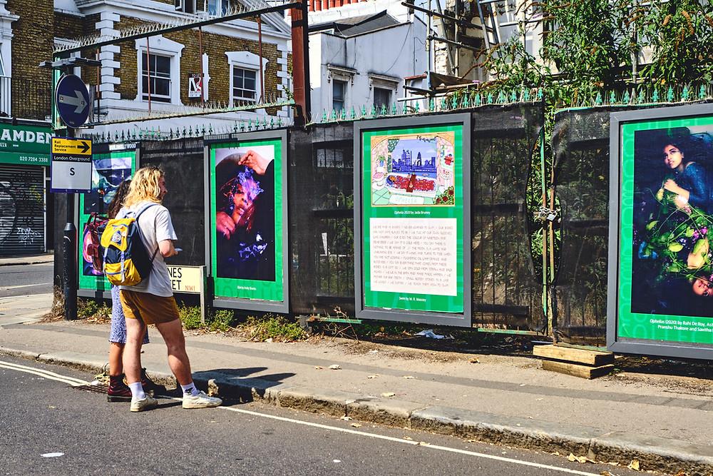 מיצגי אמנות חדשים בלונדון