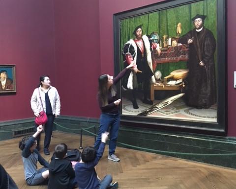 סיורי אמנות בלונדון בעברית