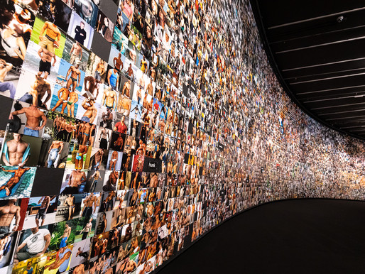 תערוכת אמנות של טרבור פגלן בלונדון