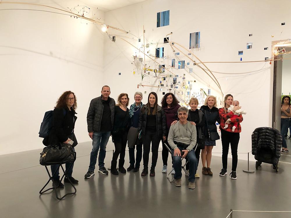 המלצה על סיורי אמנות בעברית בלונדון