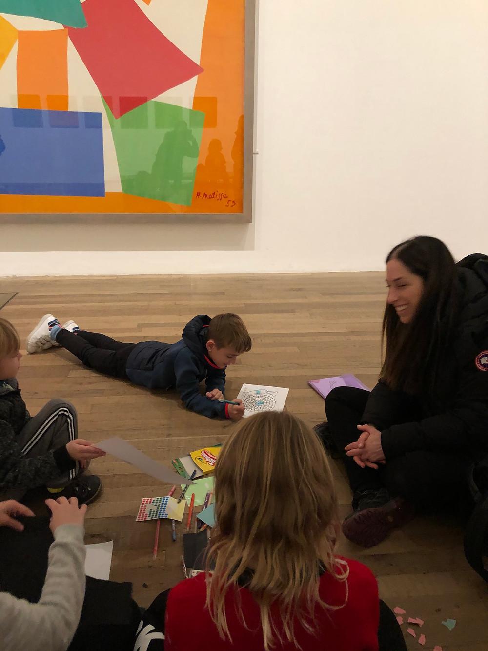 סיורי אמנות בלונדון לכל המשפחה
