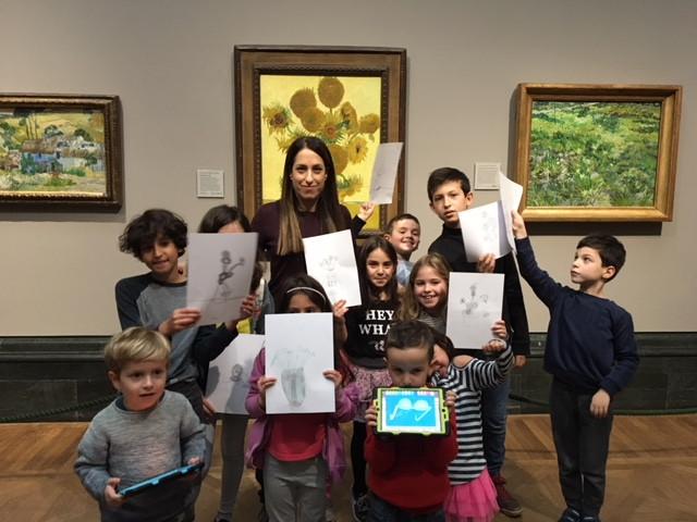 סיורי אמנות בלונדון המותאמים לילדים