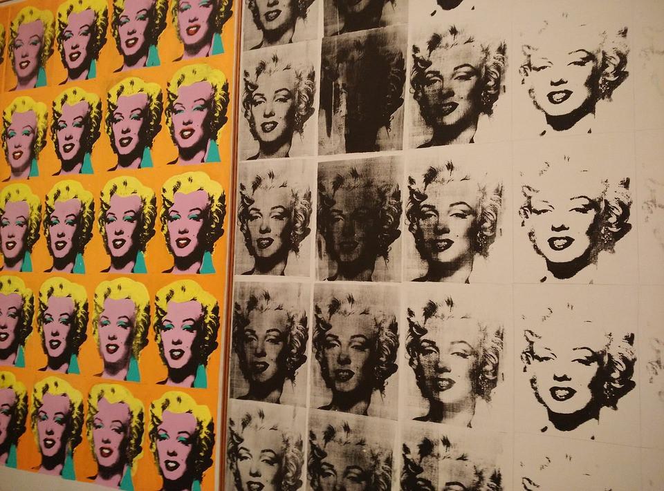 תערוכת אמנות על אנדי וורהול בלונדון