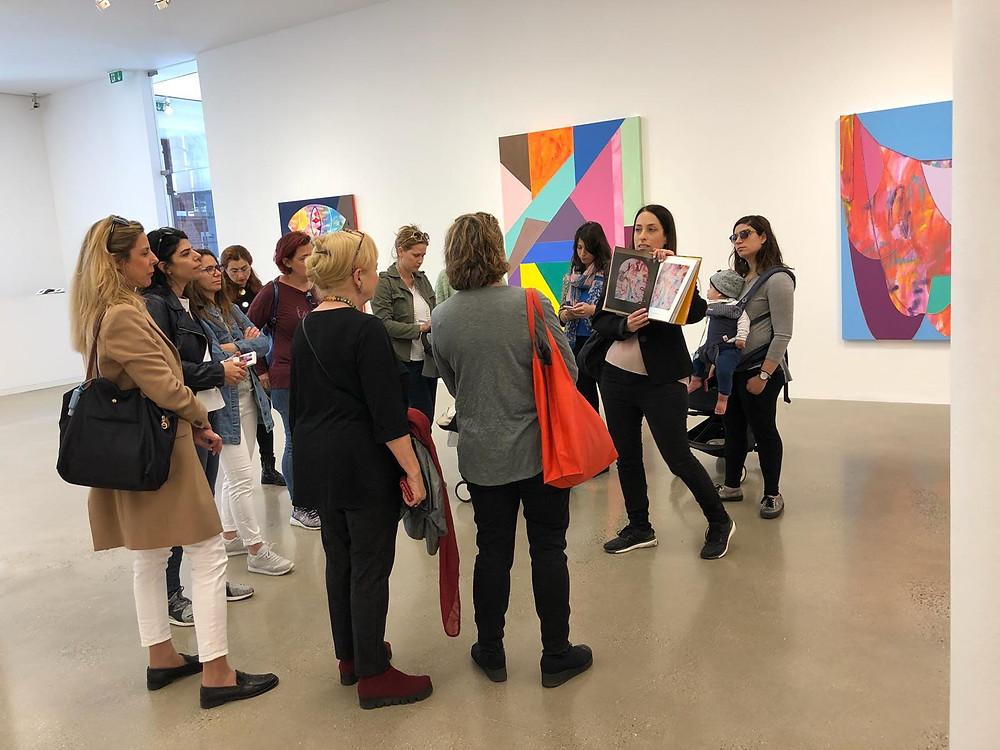 סיורים בלונדון בעקבות האמנות