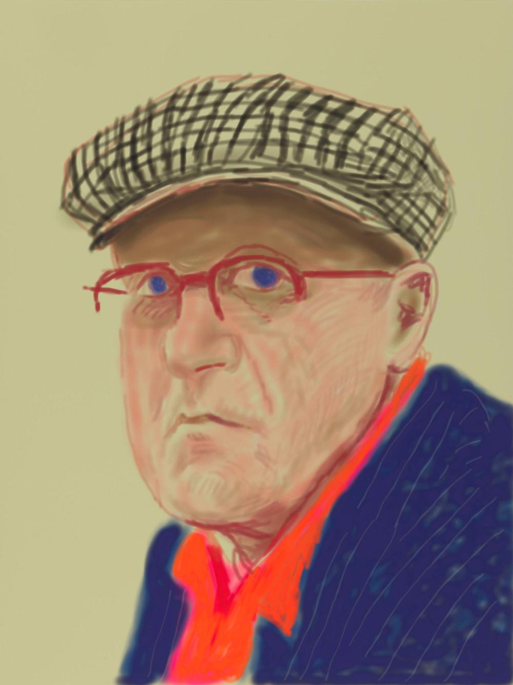 תערוכת אמנות של דייוויד הוקני בלונדון