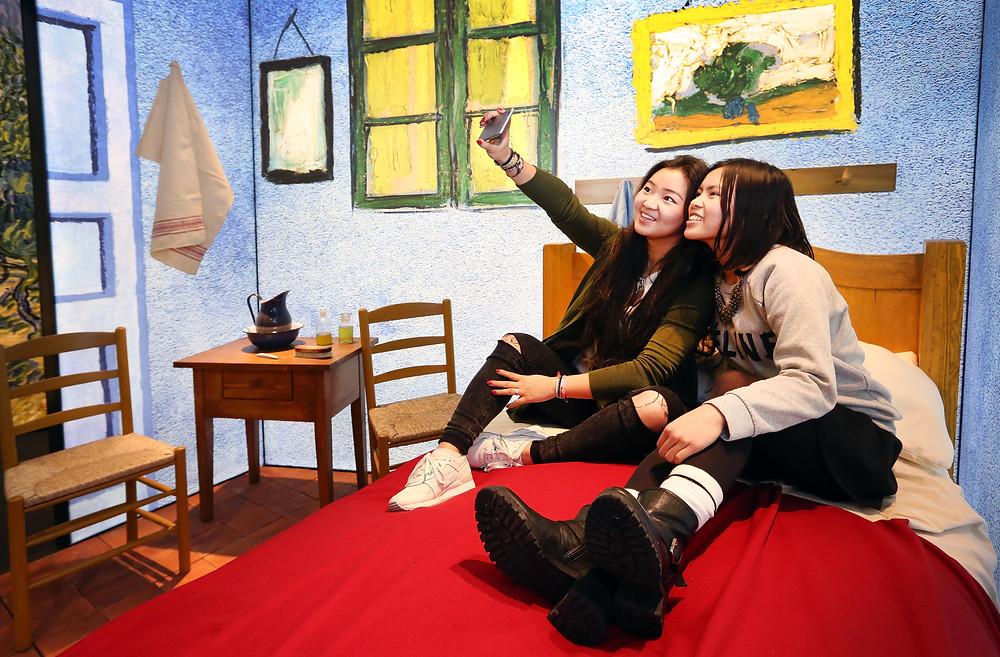 תערוכה אינטראקטיבית על ואן גוך בלונדון