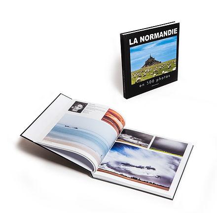 Livre photo sur la Normandie