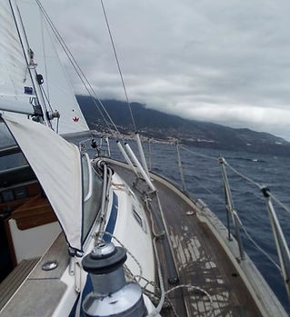 Marina La Palma approach around 1430 hrs
