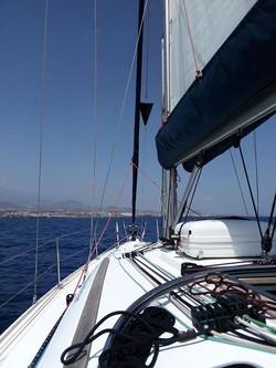 Motor sailing cone