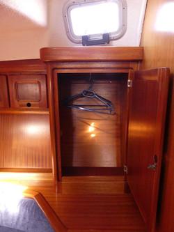 Julia Main Cabin Closet