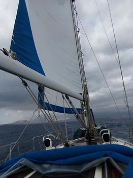 Challenging conditions south of Tenerife