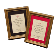 Confirmation Gift Plaque