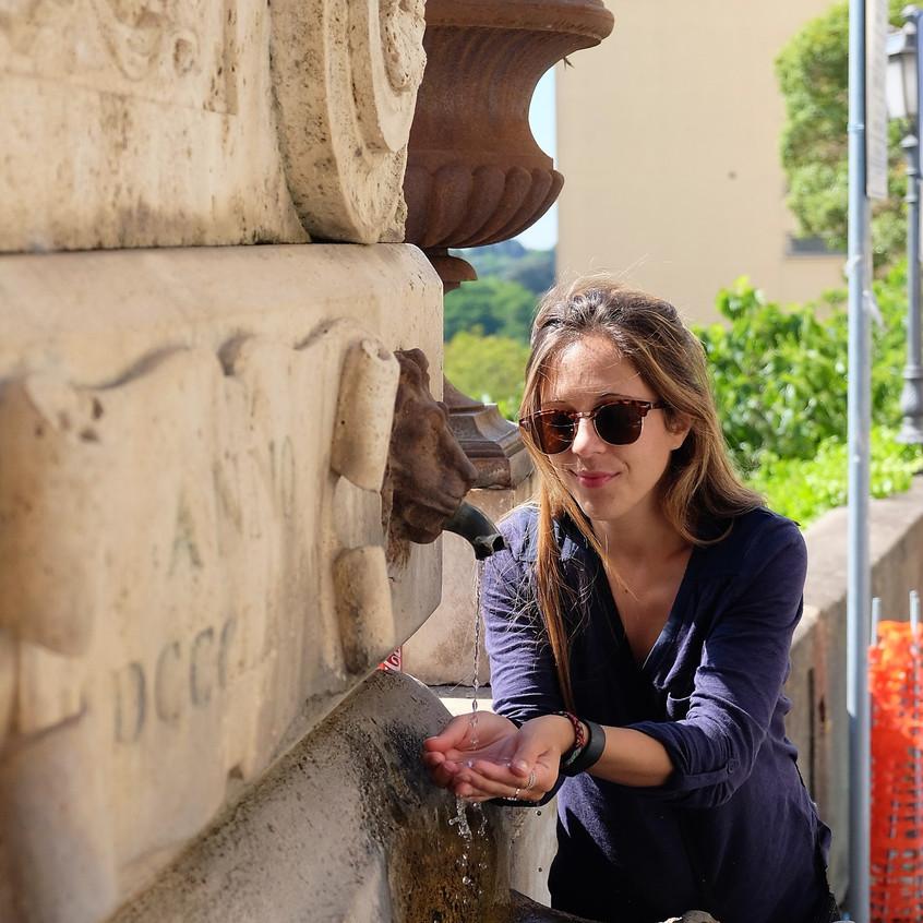 Stephanie Frade, Zagarolo water fountain