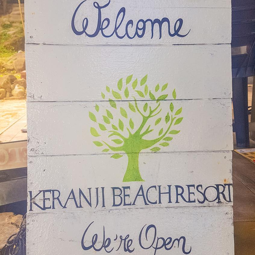 Welcome to the Keranni Beach Resort on Perhentian Kecil, Malaysia.