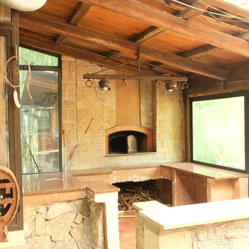 True italian Pizza oven