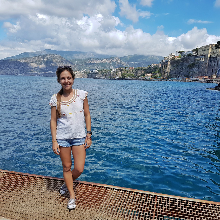 Sorrento views from Marina Grande