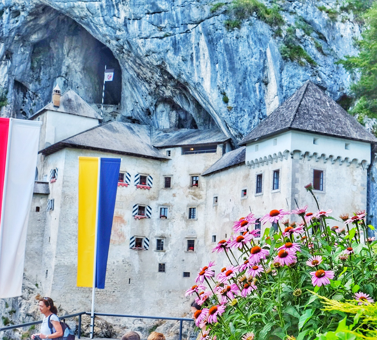 Predjama Castle, Slovenia. Photo by Wanderlustaussies