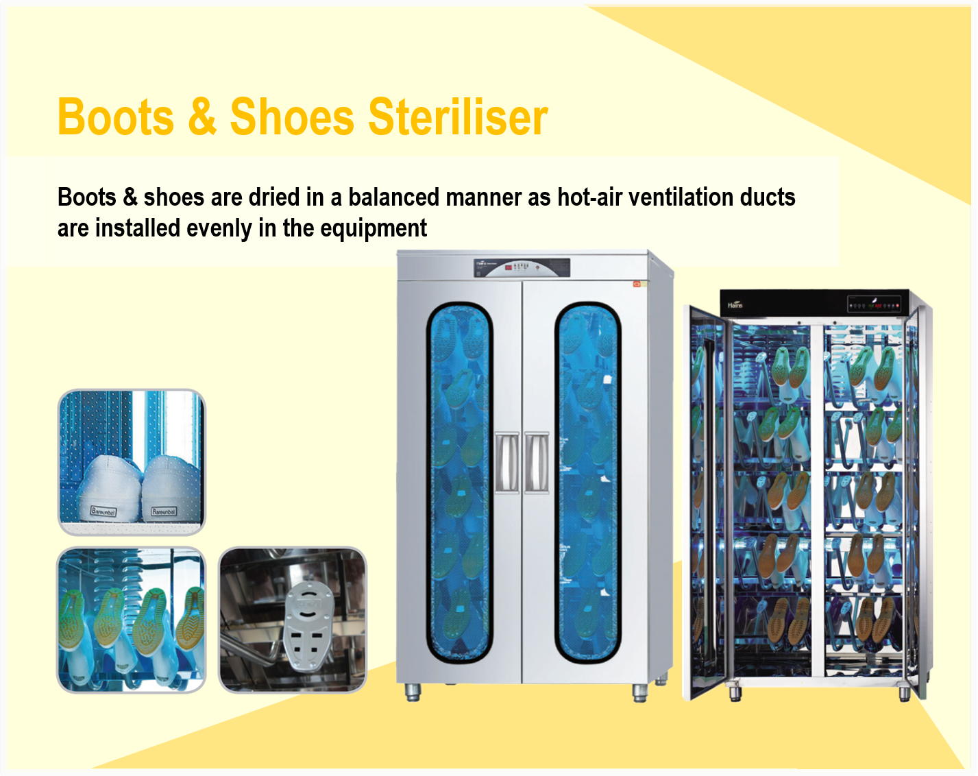 Boots & Shoes Steriliser
