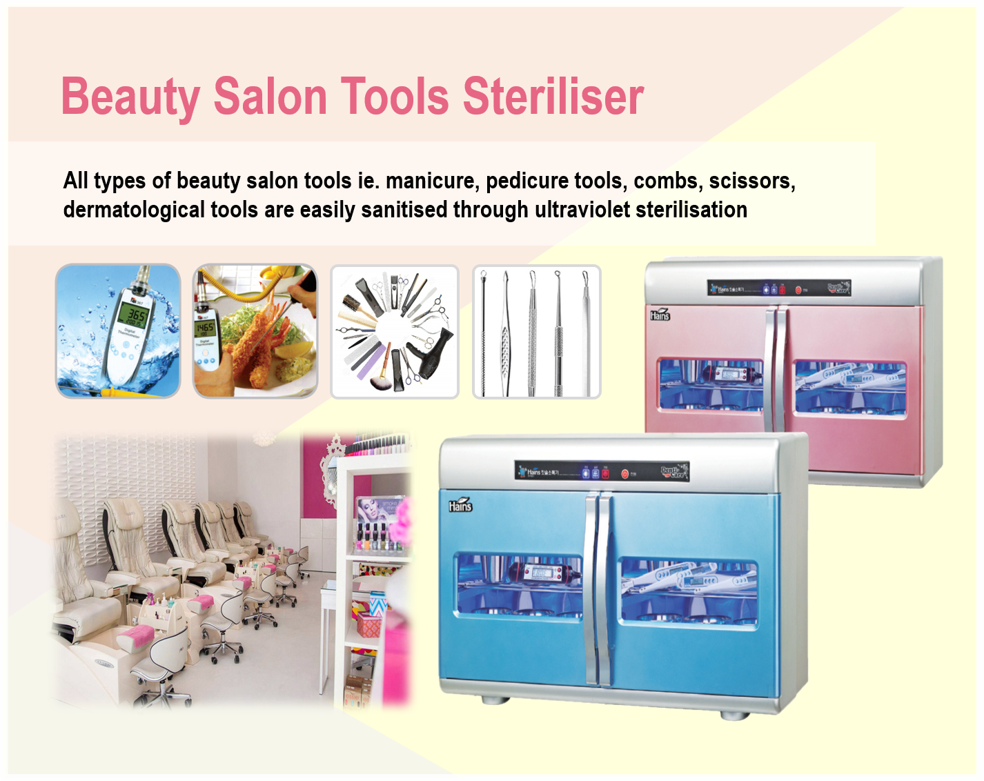Beauty Salon Tools Steriliser