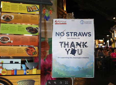 No more plastic straws at Resorts World Sentosa
