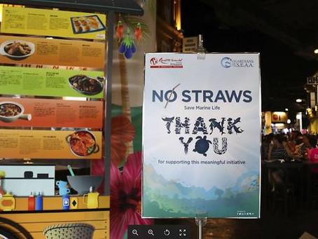 No more plastic straws at Resorts World Sentosa