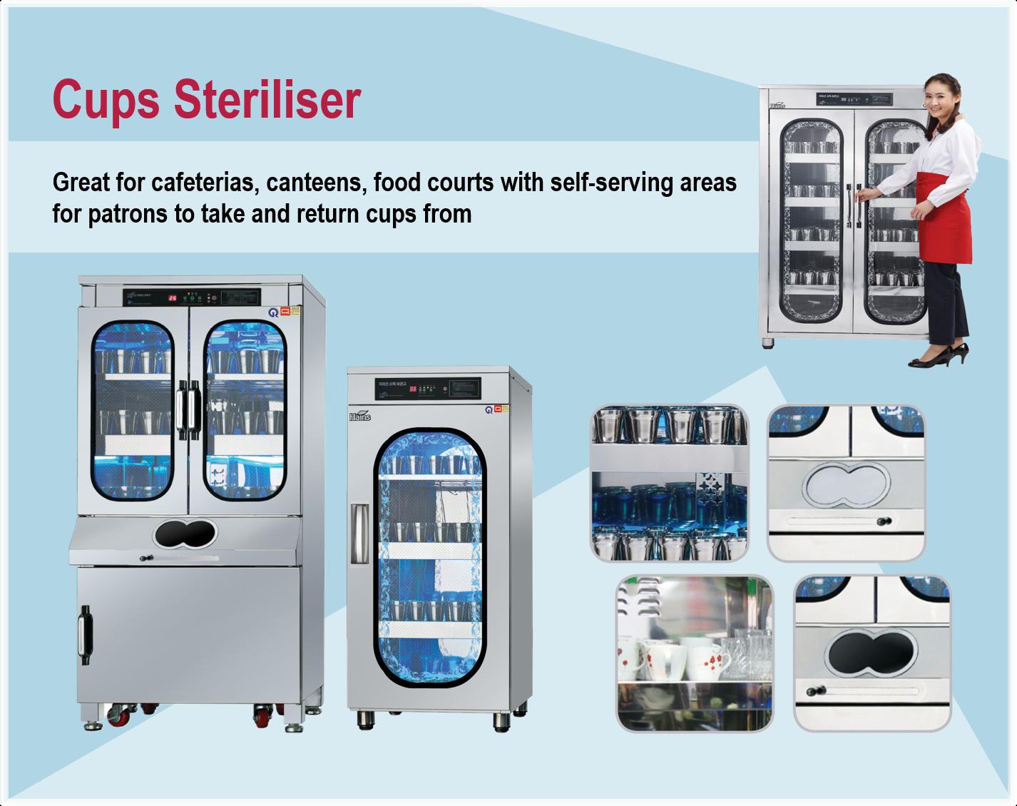 Cups Steriliser