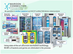 Maroon Connection | Commercial use Ultraviolet Sterilisers