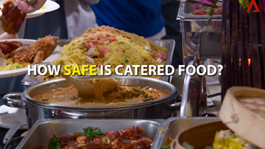 How safe is catered food?