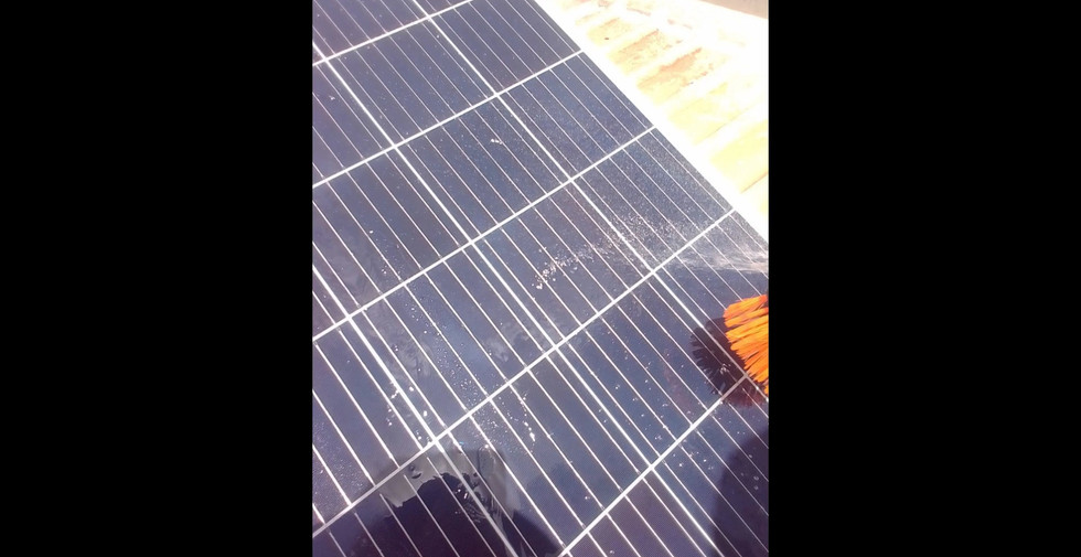 Solar Panel Clean - Tactic Pest Control