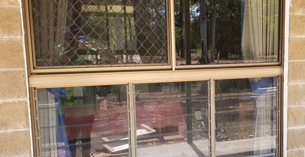 Glass Louvres - After