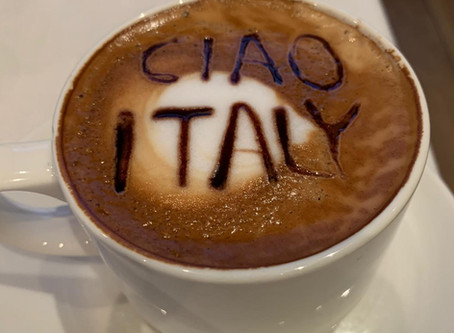 About the food and as we say  'Ciao, Italy!'
