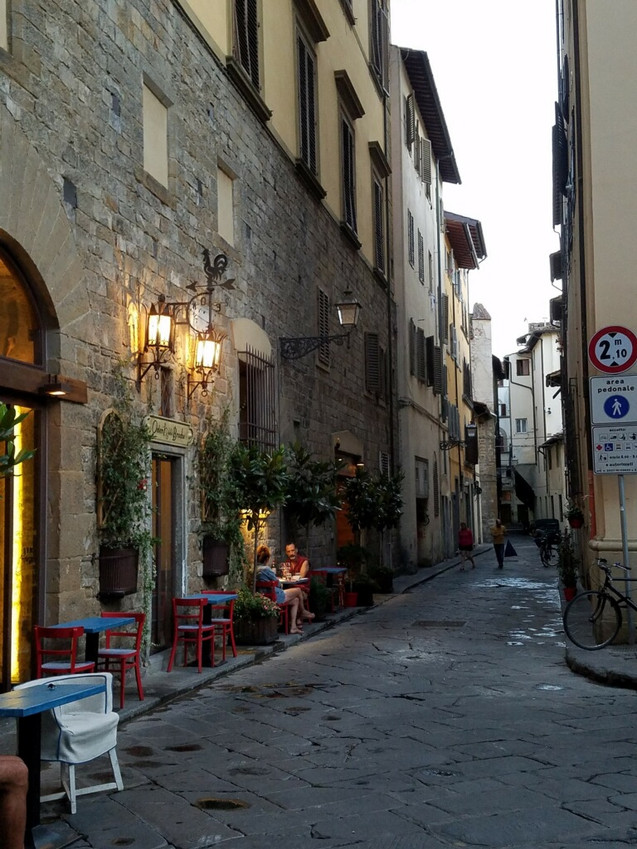 Street cafe near Florence