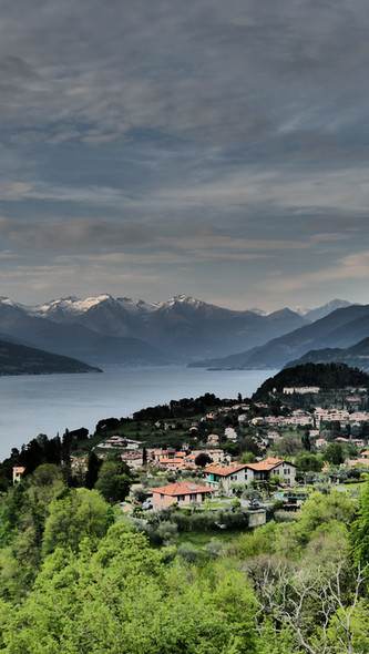 Hills above Bellagio & Lake Como