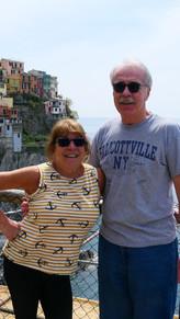 John and Maria Bodkin, Cinque Terre