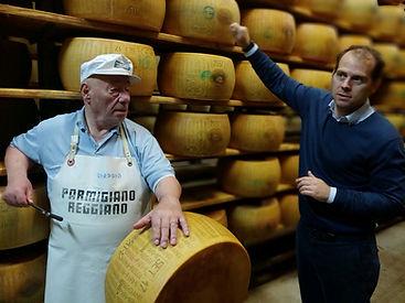Parmigiano- Reggiano Cheese tour and Rating_ Giansanti di Muzio_ Parma in Emilia Romagna Italy.jpg
