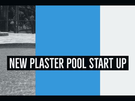 NEW PLASTER POOL START UP
